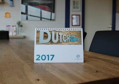 Dutchcabin - kalender (1) bestelbus bestickeren
