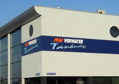 Gevelreclame - 2 - Verwater