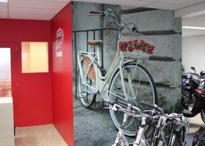 Sweere Bike Totaal (3) bestelbus bestickeren