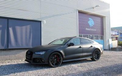 Carwrap van een Audi RS 7